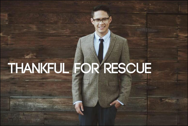 I Am They's Justin Shinn: Thankful for Rescue
