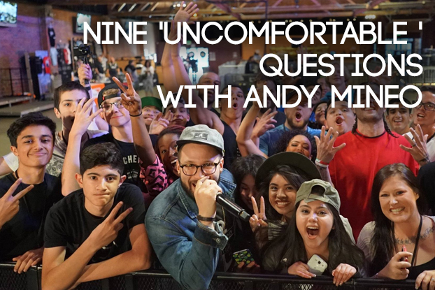Nine Uncomfortable Questions with Andy Mineo