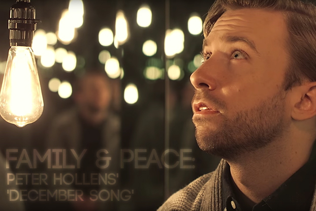 Family and Peace: Peter Hollens' 'December Song'
