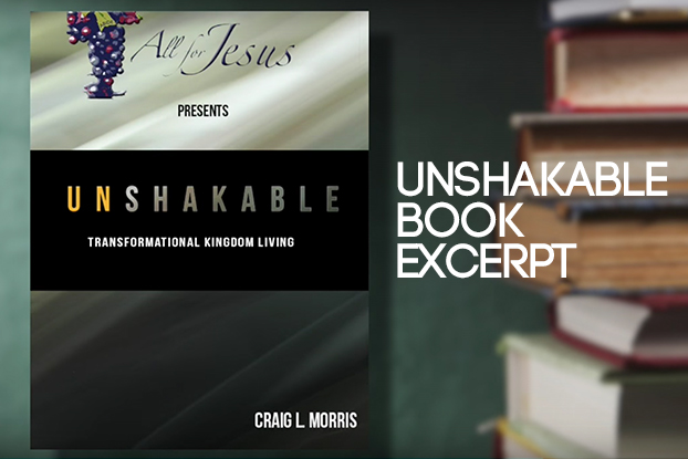 'UnShakable' by Craig L. Morris