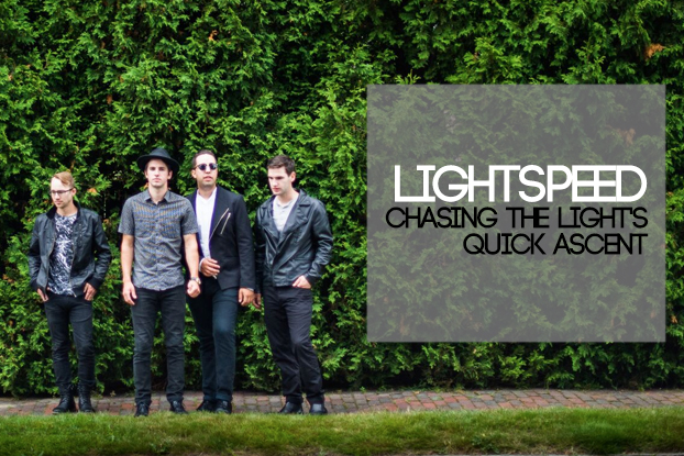 Lightspeed: Chasing the Light's Fast Ascent