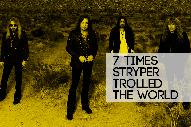 7 Times Stryper Trolled The World