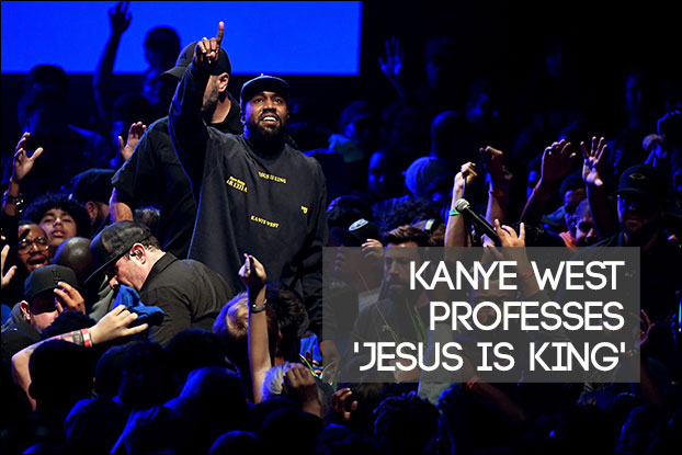 Kanye West Proudly Professes Faith