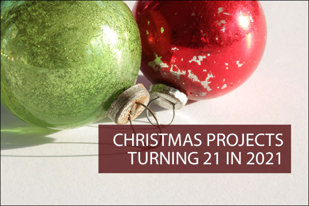Christmas Projects Turning 20