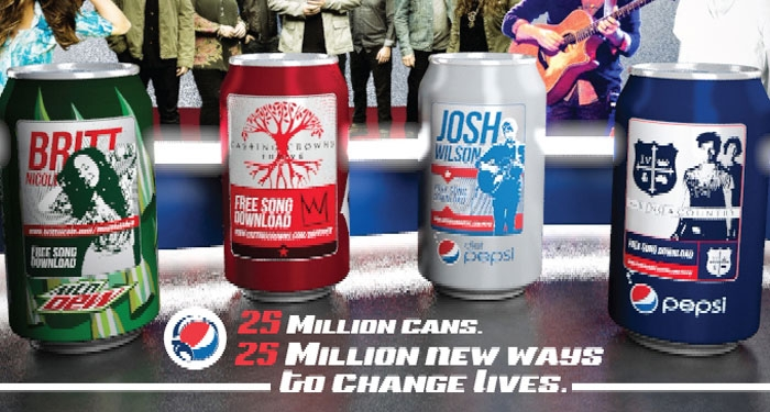 Pepsi Reveals Christian Music Cans