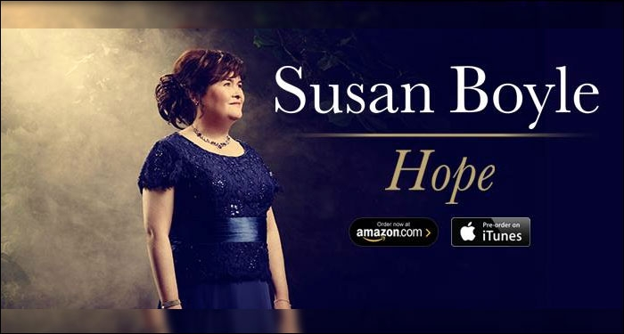 Susan Boyle Releasing Sixth Studio Album, <i>Hope</i>