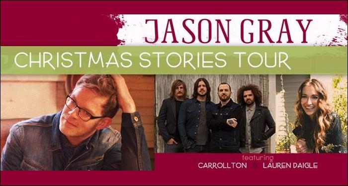 Jason Gray Launches Christmas Stories Tour