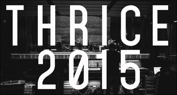 Thrice Tease Possible Reunion for 2015
