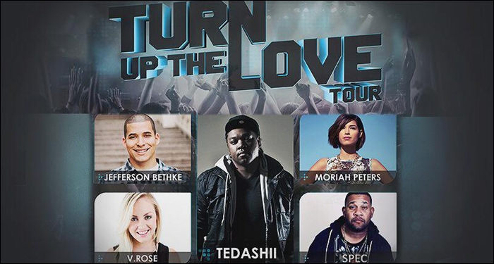 Tedashii Plans Tour With Moriah Peters, V. Rose, Spec and Speaker Jefferson Bethke