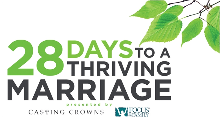 Casting Crowns Introduces 28 Days to a Thriving Marriage Devotional