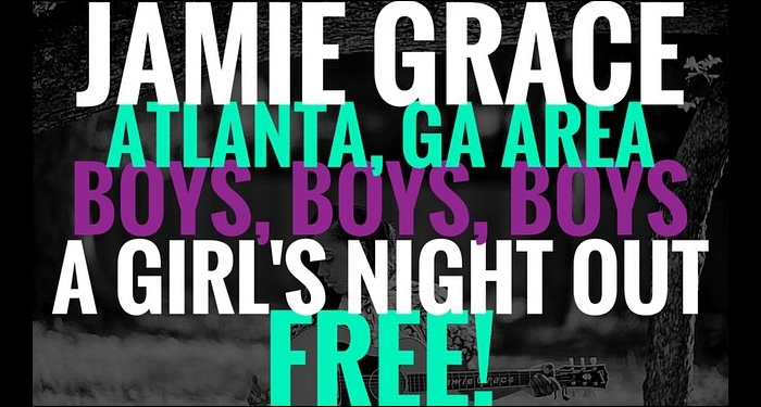 Jamie Grace Hosts Girl's Night Out in Atlanta