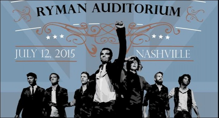 for KING & COUNTRY Returns To The Ryman