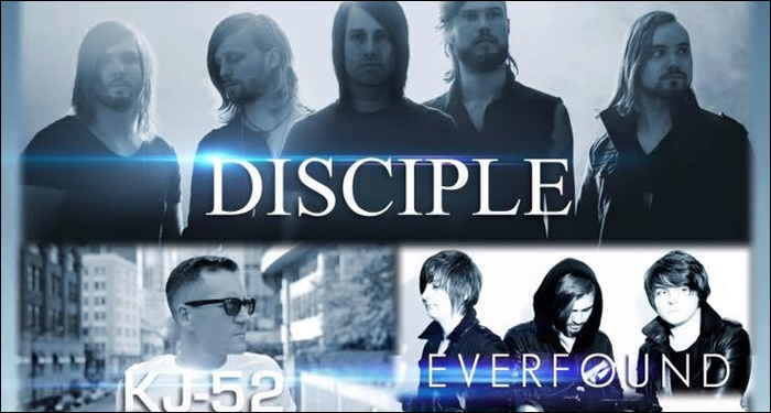 Disciple, KJ-52 and Everfound To Tour This Fall