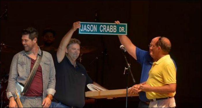 Jason Crabb's Hometown Names Road After Him