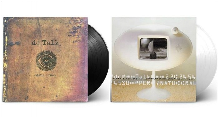 Superfan Vinyl Announces First Ever Vinyl Release Of DC Talk's Jesus Freak And Supernatural