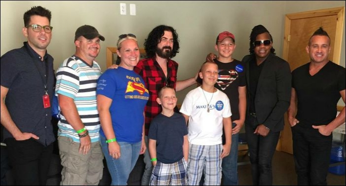 Newsboys Partner With Make A Wish Foundation To Visit Special Fan