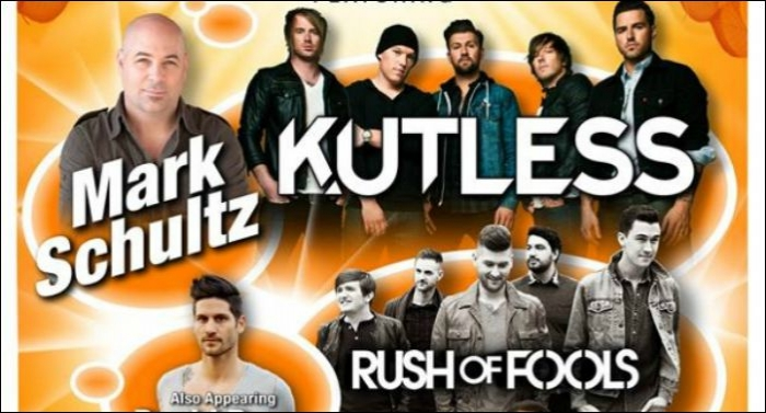 Kutless, Mark Schultz, Rush Of Fools, David Dunn, Natasha Owens Announce Fall Tour