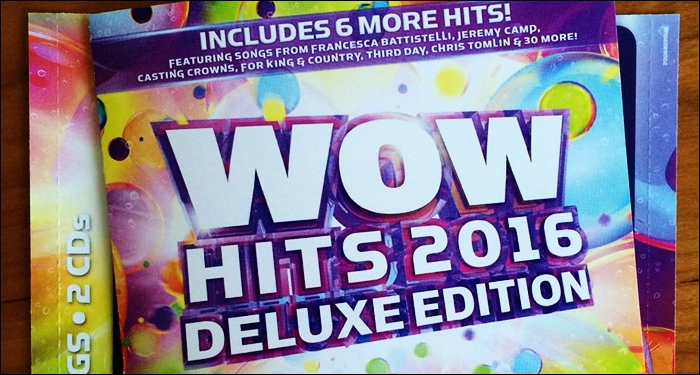 WOW Hits 2016 Deluxe Edition Includes 36 Christian Artists and Hit Songs