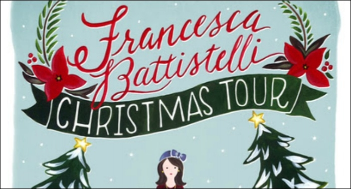 The Third Annual Francesca Battistelli Christmas Tour Kicks Off December 3