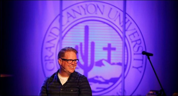 Grand Canyon University, MercyMe's Bart Millard Unveil Recording Studio To Develop Emerging Christia