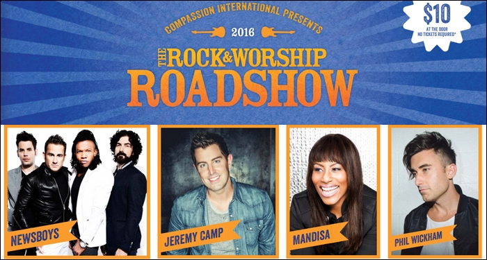 Compassion International Announces 8th Annual Rock and Worship Roadshow