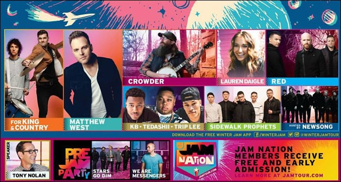 Fan Favorites for KING & COUNTRY and Matthew West to Headline WinterJam 2016