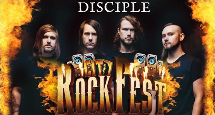 Seventh Day Slumber and Disciple Announce Second Annual City Rockfest Tour