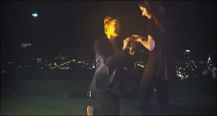 Christian Pop Artist Proposes in Music Video