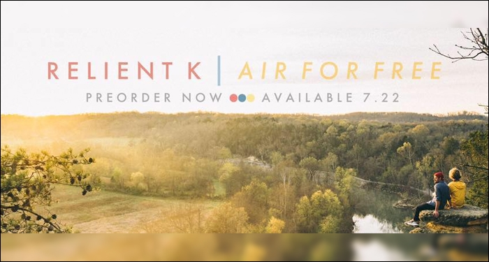 Relient K Announces Details and Reveals Cover of 'Air For Free'