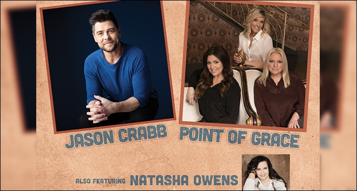 Jason Crabb, Point of Grace and Natasha Owens unite for THE ROAD HOME Tour