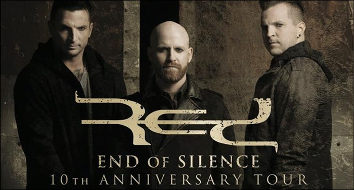 ​RED Announces Details of End of Silence 10th Anniversary Tour