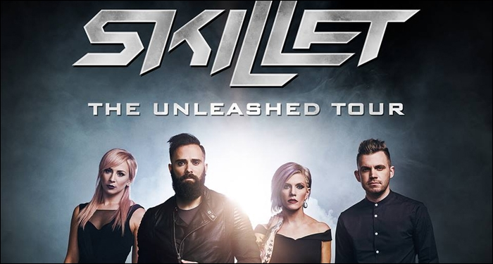 ​Skillet Announces Unleashed Headlining Tour