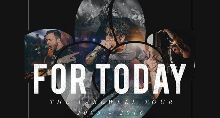 ​For Today Announces Disbandment and Farewell Tour