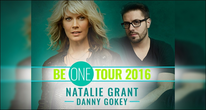 Natalie Grant and Danny Gokey Join Forces for 2016