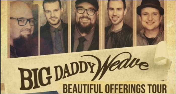 Big Daddy Weave Launches Fourth 'Beautiful Offerings Tour'