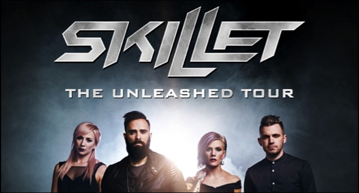 Skillet Expands 'The Unleashed Tour' To Europe And Russia