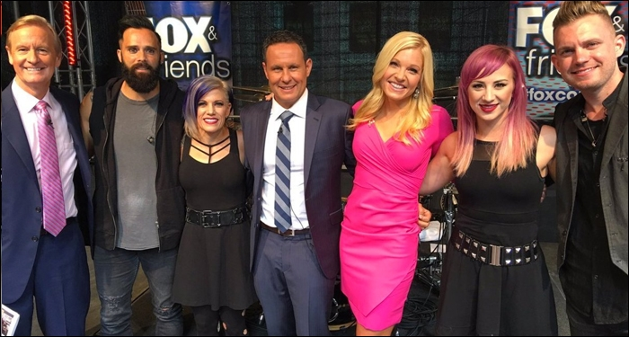 ​Skillet Perform on FOX & Friends All-American Summer Concert Series