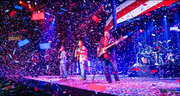 The American Gospel Celebration Wraps Up with Performances by Lee Greenwood and Diamond Rio