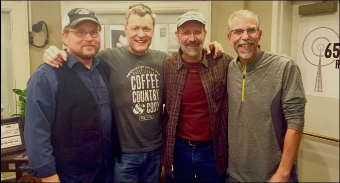 Ron Block And Jeff Taylor Visit World-Famous WSM Radio