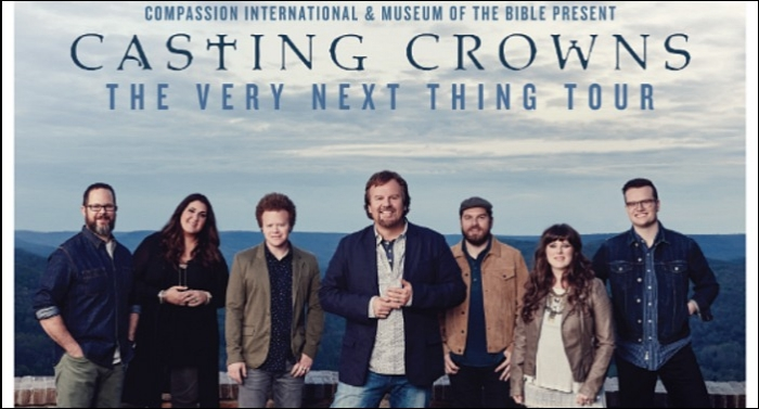 Casting Crowns Announces Spring Leg Of 'The Very Next Thing' Tour