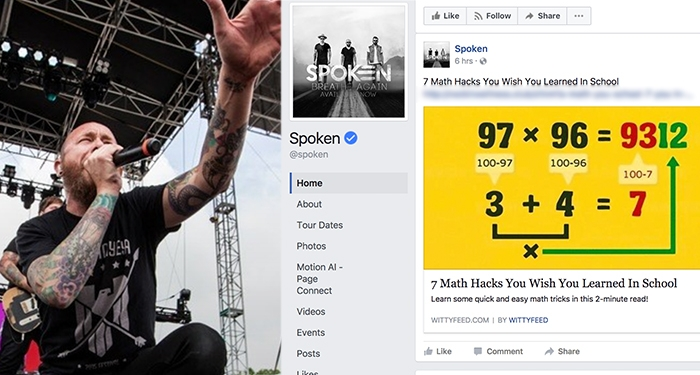 Hackers Take Over Christian Rockers' Facebook Pages