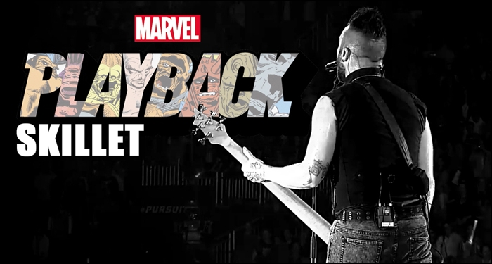 Skillet's John Cooper Featured On Marvel's Playback