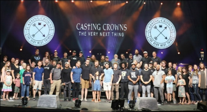 Casting Crowns Completes Most Attended Tour Since 2008