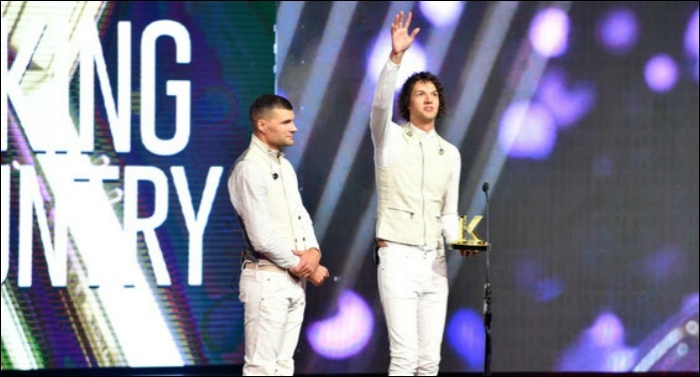 For KING & COUNTRY Earns Three Awards at Fifth Annual K-LOVE Fan Awards