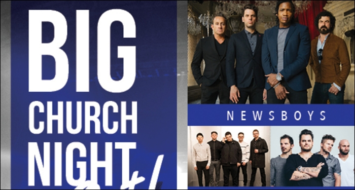 Newsboys Announce All New Big Church Night Out Tour This Fall