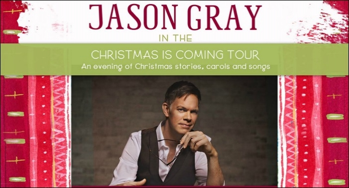 Jason Gray Announces Christmas Tour Lineup