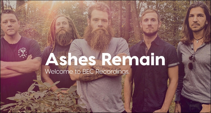 Ashes Remain Signs With BEC Recordings