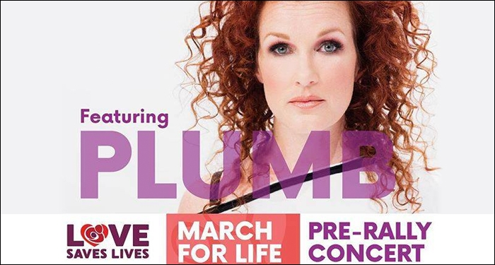 ​Plumb to Perform at 2018 March For Life