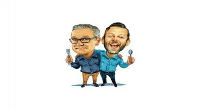 'Dinner Conversations with Mark Lowry and Andrew Greer' Hits #1 on iTunes Video Podcast Charts