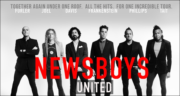 Newsboys Members Past and Present Unite for 2018 Tour